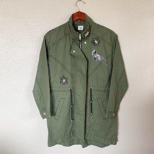 CAbi Military Green Hanson Anorak #3371